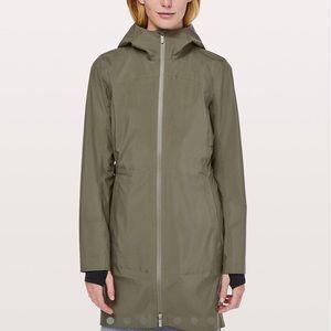 New with tags Rain Rules Lululemon rain jacket